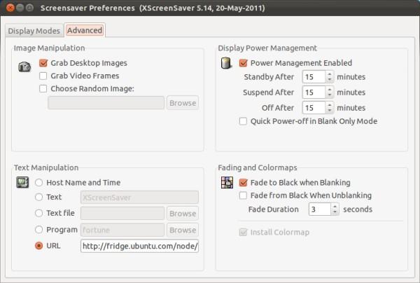 Ubuntu blank screen, installing xscreensaver at dreamport   nonoo hu